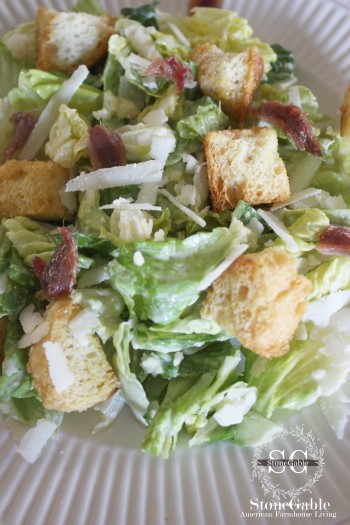 Caesar Salad-stonegableblog.com