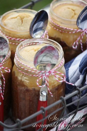 Chili and Cornbread in a Jar stonegableblog.com 13