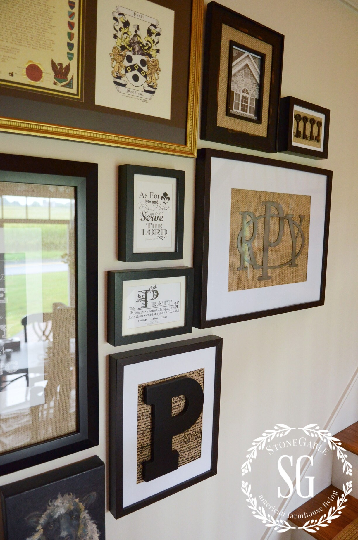 How To Hang An Quot As You Go Quot Wall Art Gallery Stonegable