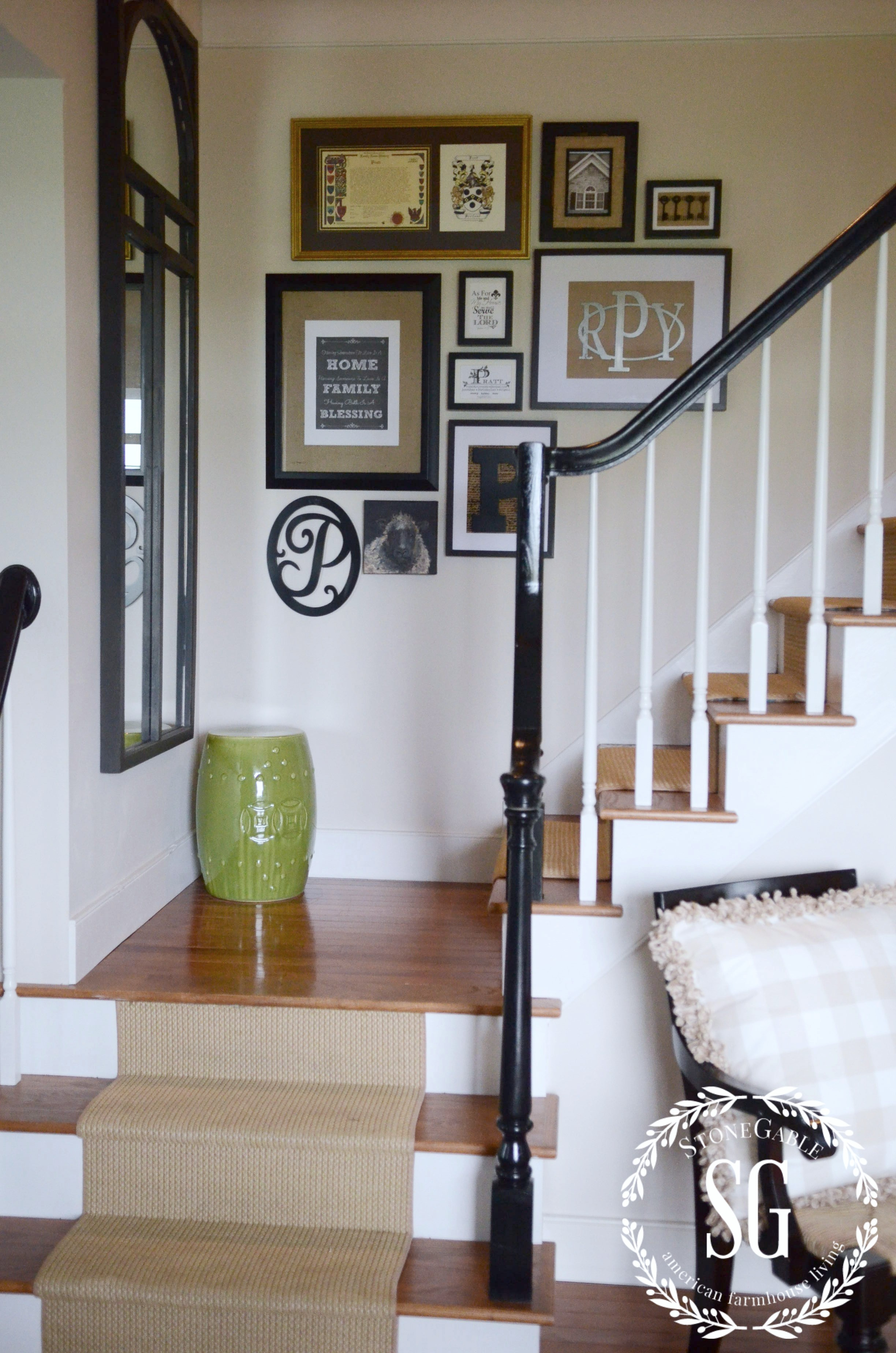 how to hang an as you go wall art gallery stonegable