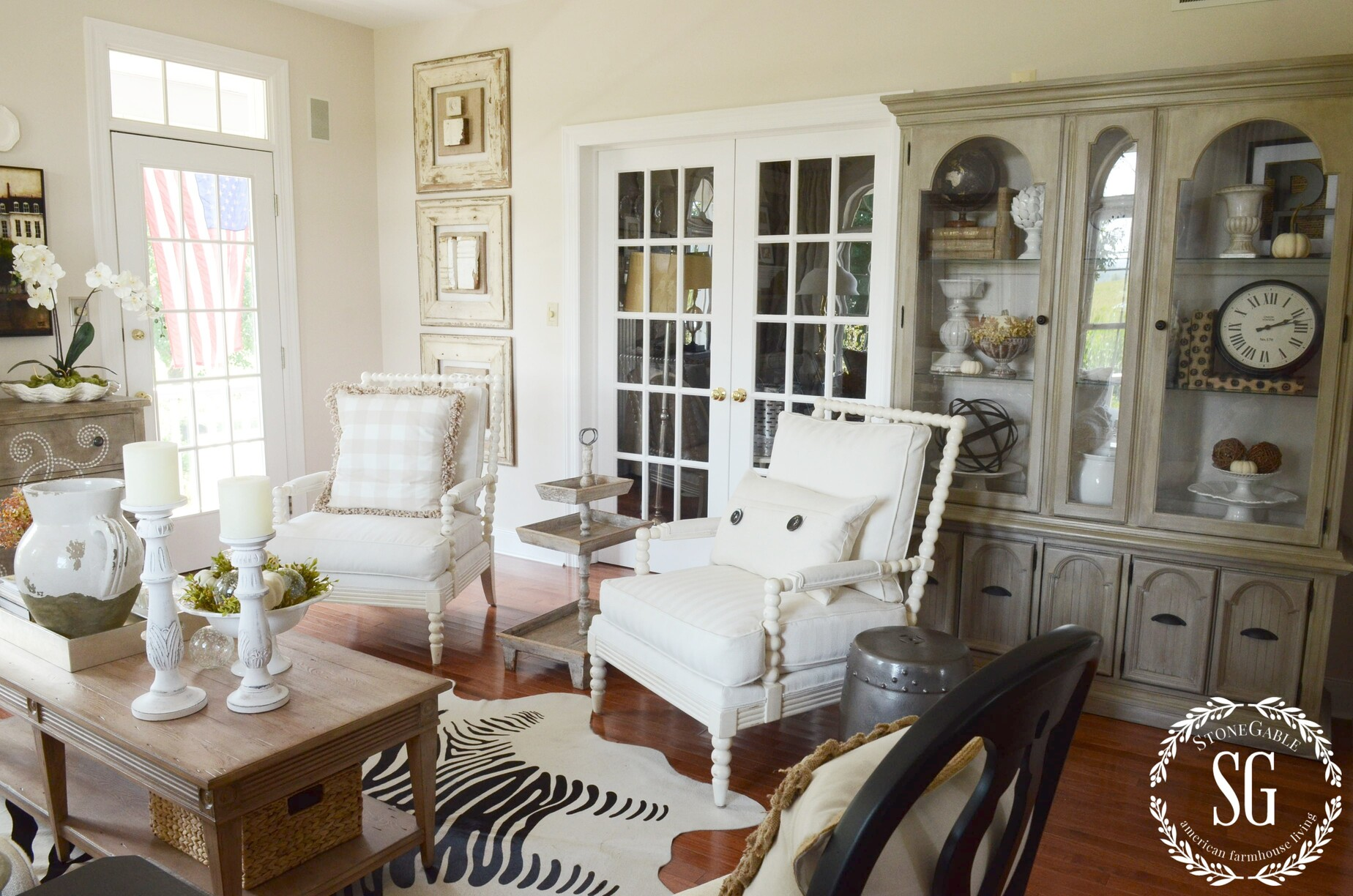 5 EASY TIPS TO STYLE A HUTCH - StoneGable