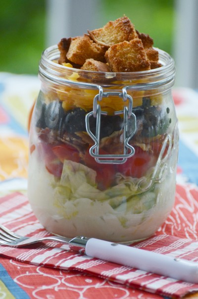 SINGLE SERVE WEDGE SALAD IN A JAR-TITLEPAGE-stonegableblog.com