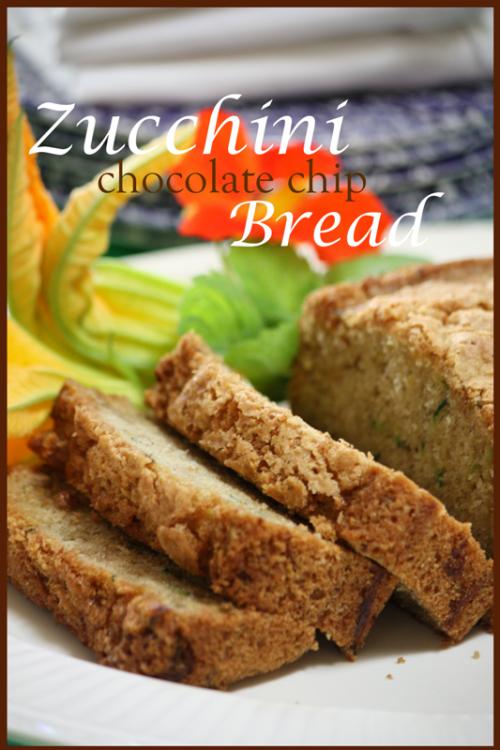 of my favorite recipes using zucchini zucchini chocolate chip bread