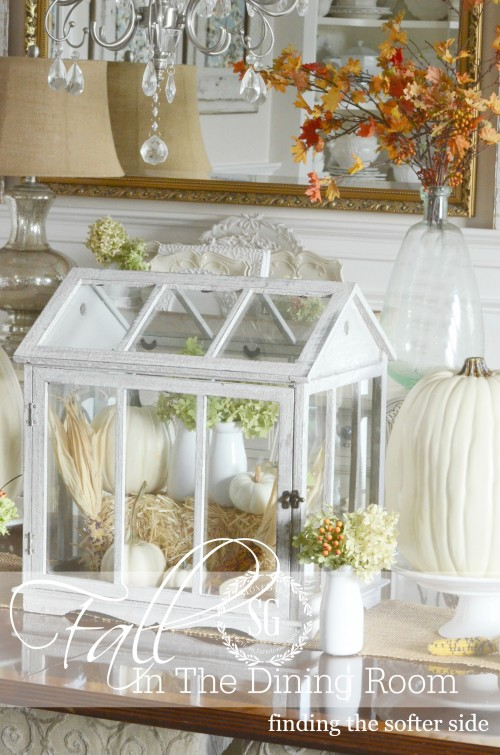 FALL IN THE DINING ROOM- the softer side of Autumn-stonegableblog.com