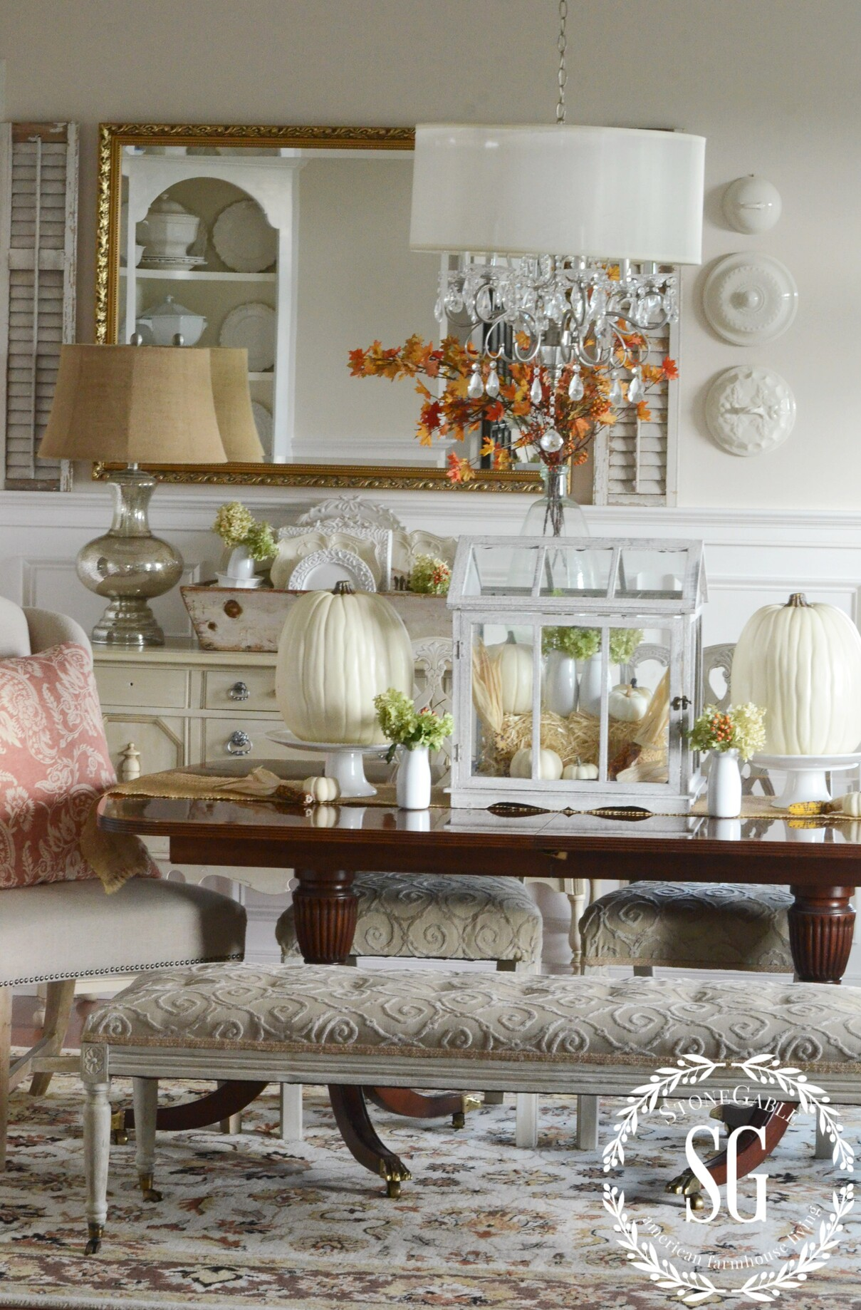 Fall In The Dining Room The Softer Side