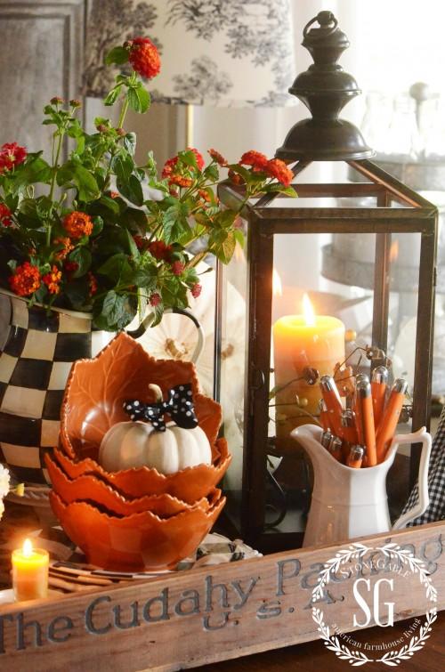 Farmhouse Style- lanterns-stonegtableblog.com