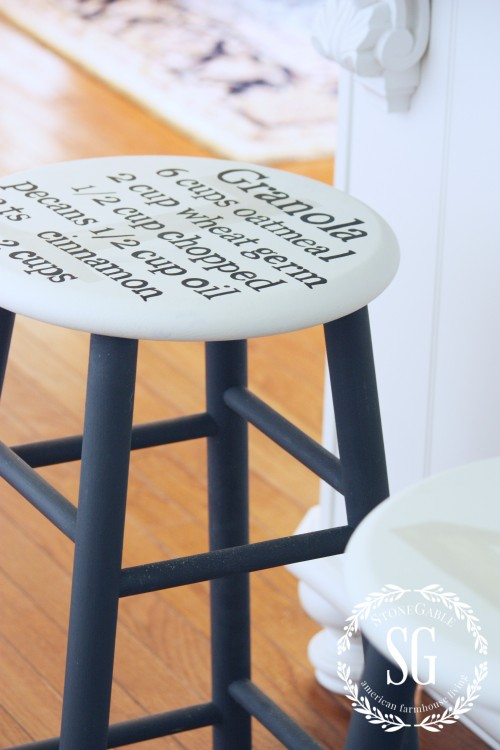 Farmhouse Style- stools-stonegtableblog.com