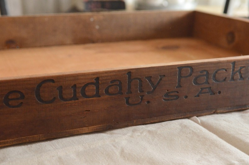 NO SEW BURLAP BOTTOMED TRAY OR CRATE-large crate-stonegaleblog.com