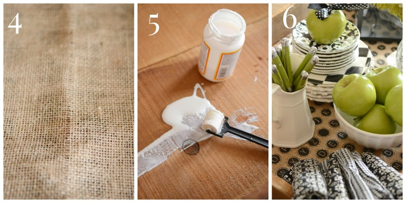 No Sew burlap Bottom Tray or Crate-Instructions 4,5,6-stonegableblog