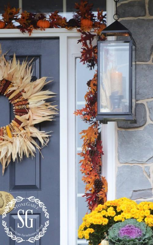 FALL FRONT PORCH-door-stonegableblog.com