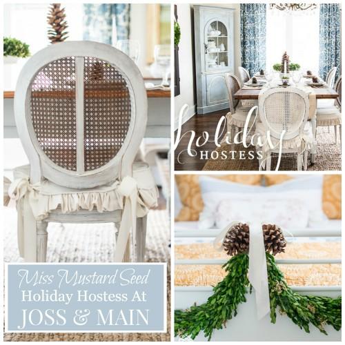Miss Mustard Seed-holiday hostess-Joss & Main