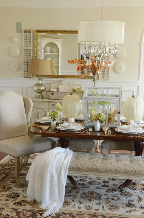 Thanksgiving In The Dining Room-chair-stonegableblog.com