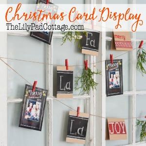 fun-way-to-display-Christmas-cards