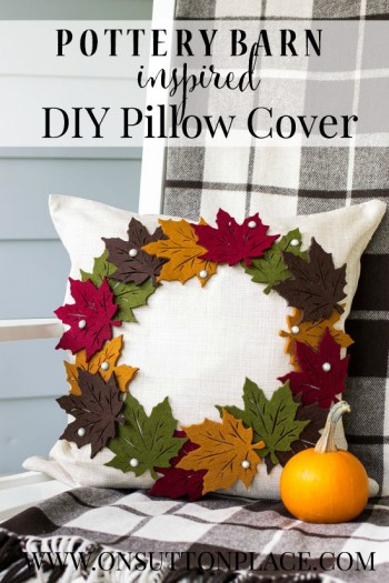 pottery-barn-inspired-diy-leaf-wreath-pillow-PIN