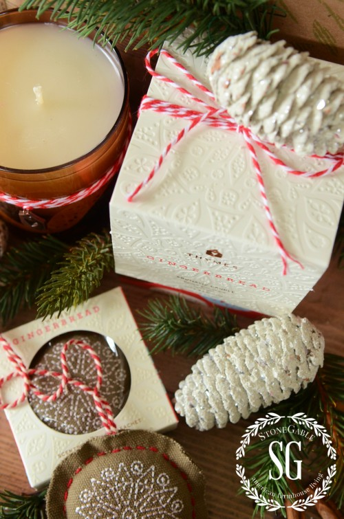 THYMES SCENTS THAT MAKE THE SEASON- beatiful packaging-stonegableblog.com