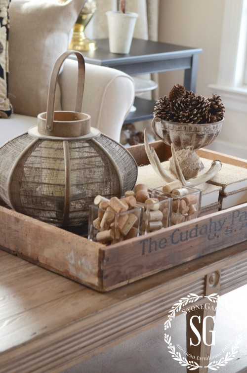 WORKING WITH TRAYS-old tray-stonegableblog