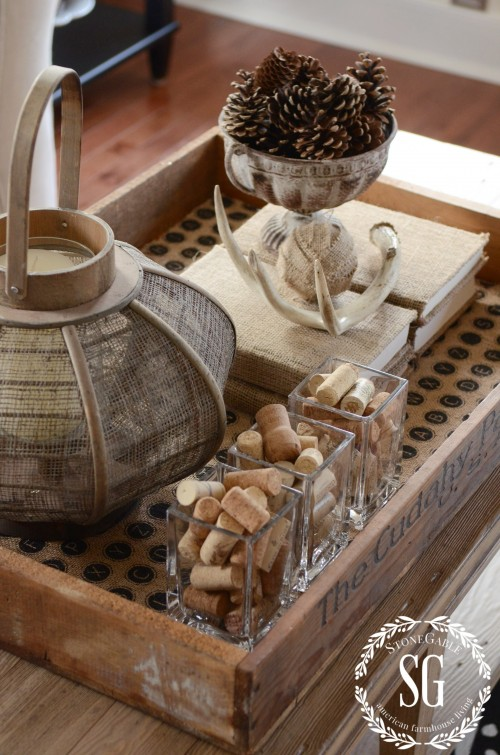 WORKING WITH TRAYS-whole tray-stonegableblog