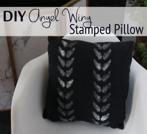 diy-angel-wing-stamped-pillow