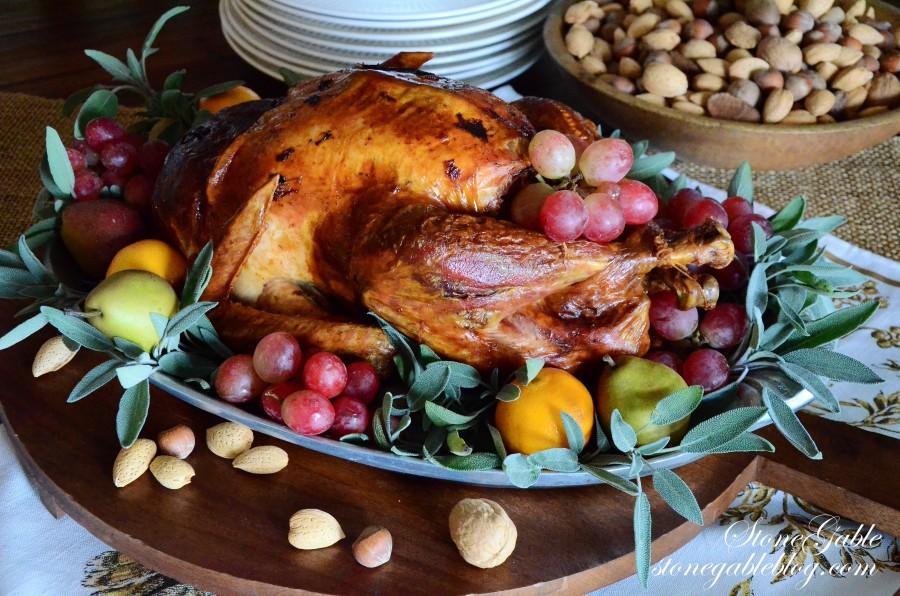 turkey and nuts-stonegableblog.com