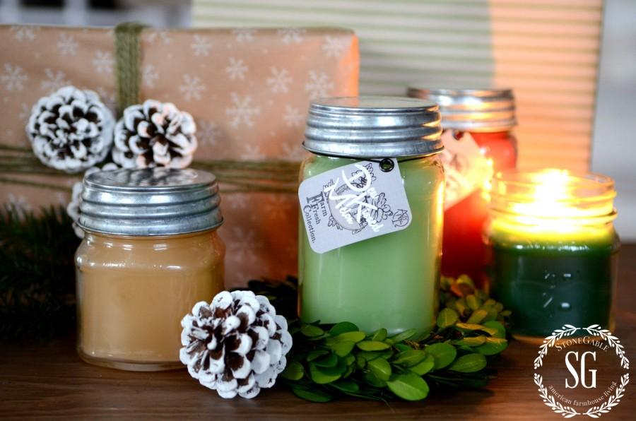 AGNES & IRENE-$150.00 CANDLE GIVEAWAY-farm fresh scents-stonegableblog.com