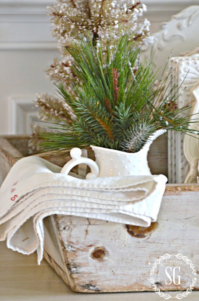 BON NOEL- HOW TO CREATE FRENCH CHRISTMAS DECOR-french linen-stonegableblog.com