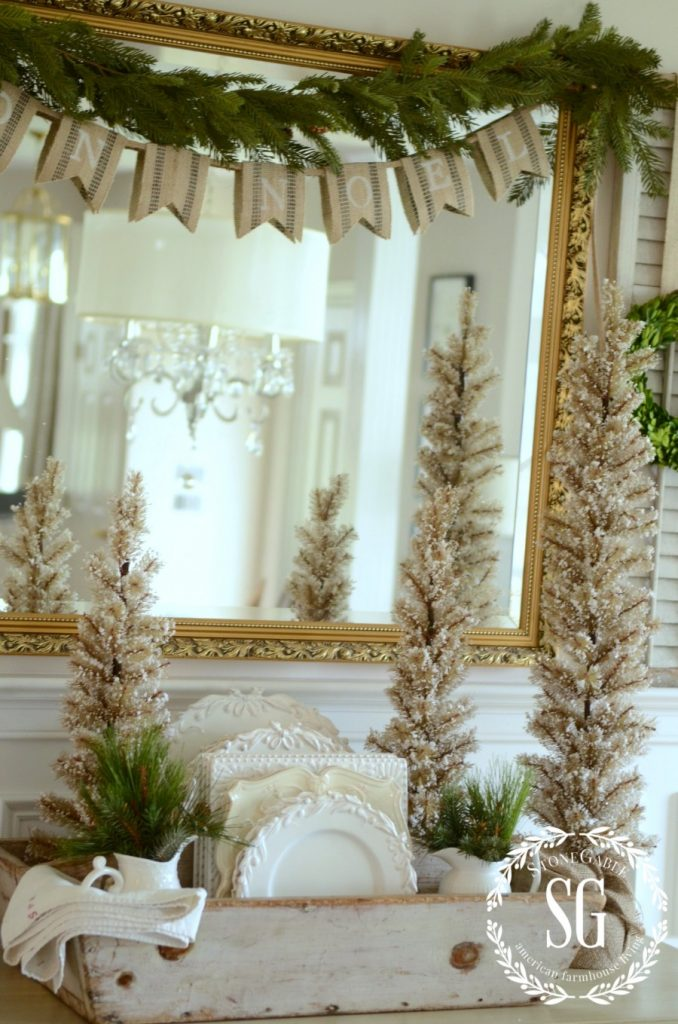 BON NOEL- HOW TO CREATE FRENCH CHRISTMAS DECOR-stonegableblog.com