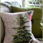 CHRISTMAS PILLOW GIVEAWAY-a beautiful Christmas Tree pillow-stonegableblog.com