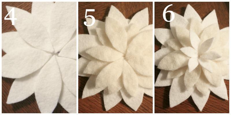 CHRISTMAS POINTSETTIA-instructions-4 to 6-stonegableblog.com