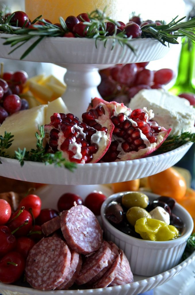 DECOR STEALS-vertical cheese board-meats-fruit-stonegableblog.com