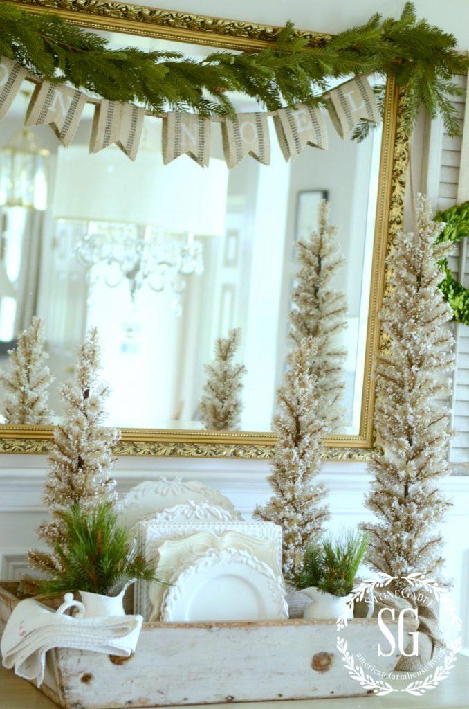 FRENCH INSPIRED CHRISTMAS IN THE DINING ROOM-buffet-banner-stonegableblog.com