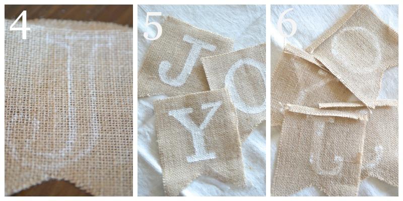 NO-SEW JOY BANNER- instructions 4 to 6stonegableblog.com