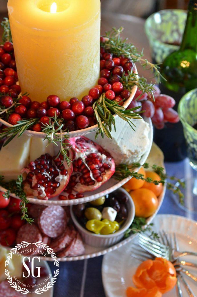 VERTICAL CHEESE BOARD- fruits-stonegableblog.com