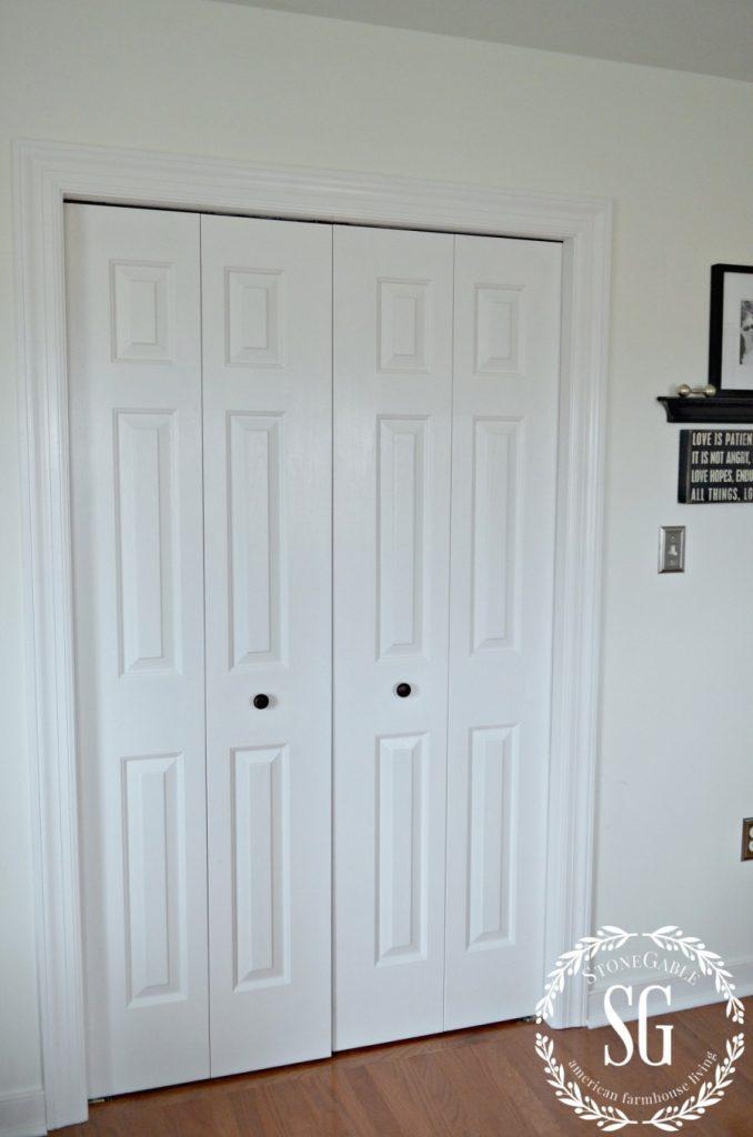 CLOSET SYSTEM-closed closet door-stonegableblog.com
