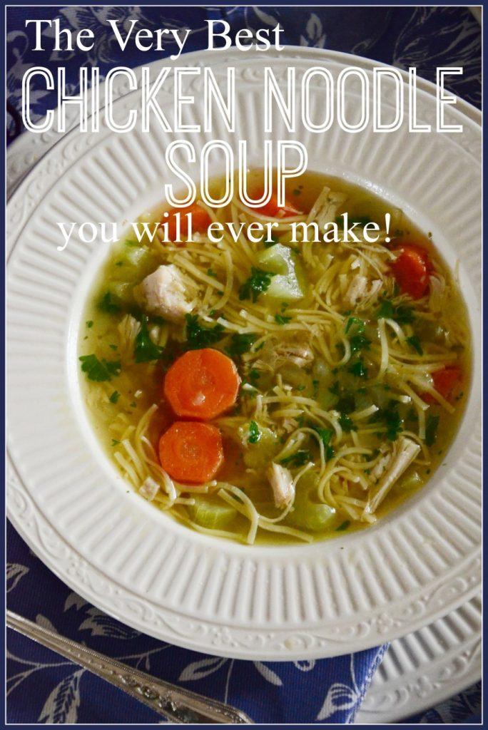 Chicken Noodle Soup-Title page-stonegableblog.com