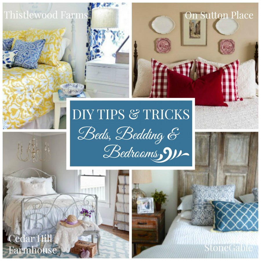 DIY TIPS AND TRICKS-BEDS, BEDDING, AND BEDROOMS-FEB. 2015