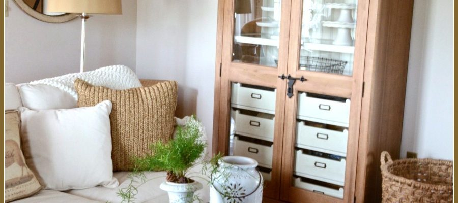 """FAMILY ROOM CABINET… FINDING THE """"JUST RIGHT"""" PIECE"""