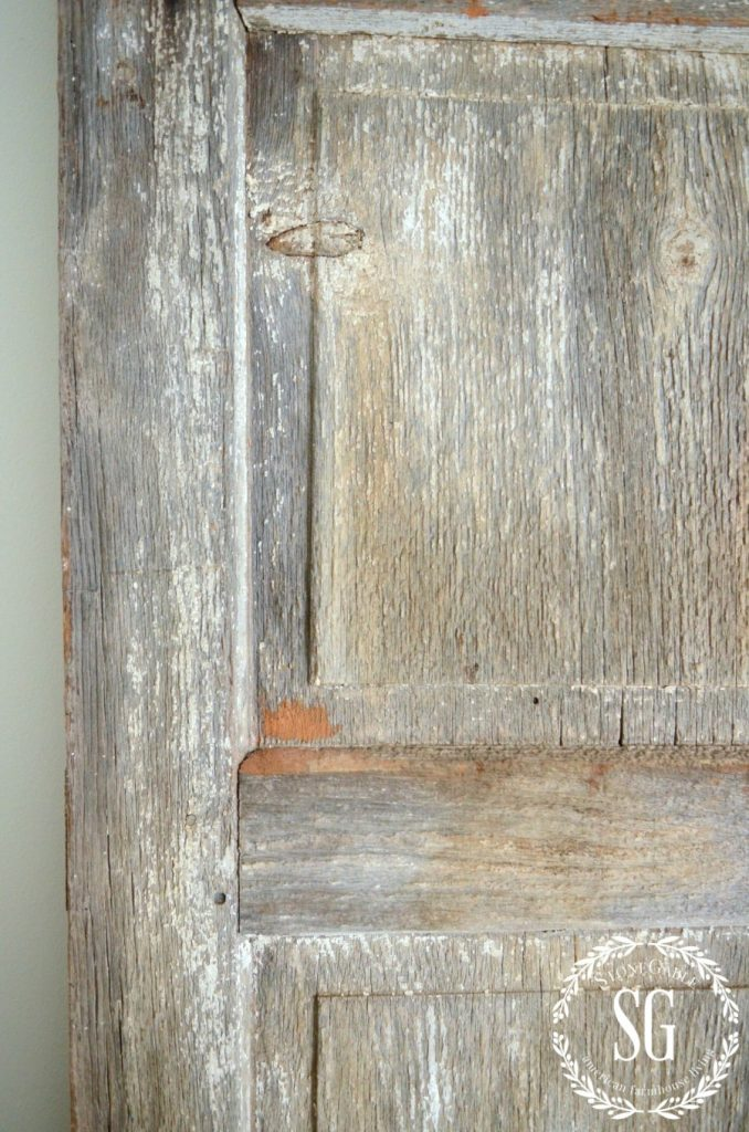 FINDING INSPIRATION- old shutter-stonegableblog.com