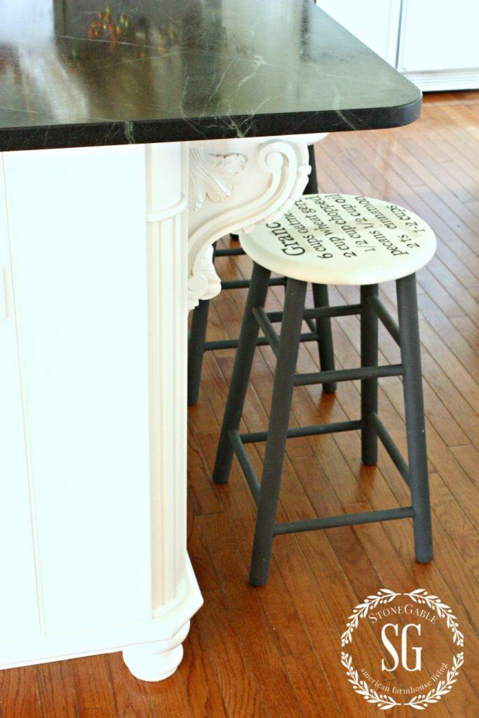 Farmhouse kitchen changes-kitchen island-stonegableblog.com