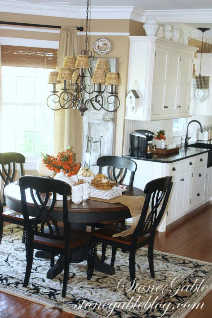Farmhouse kitchen changes-new furniture-stonegableblog.com