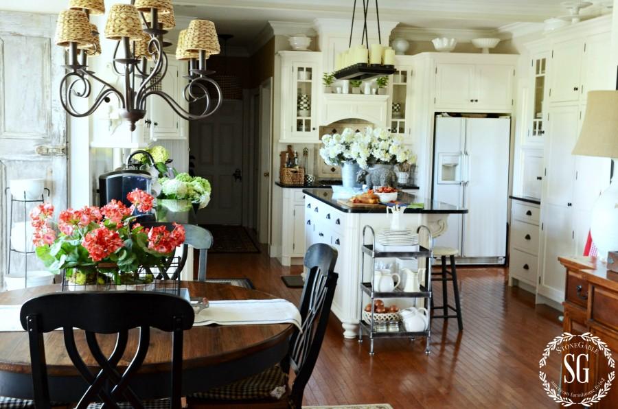 Farmhouse kitchen changes-overall kitchen-stonegableblog.com