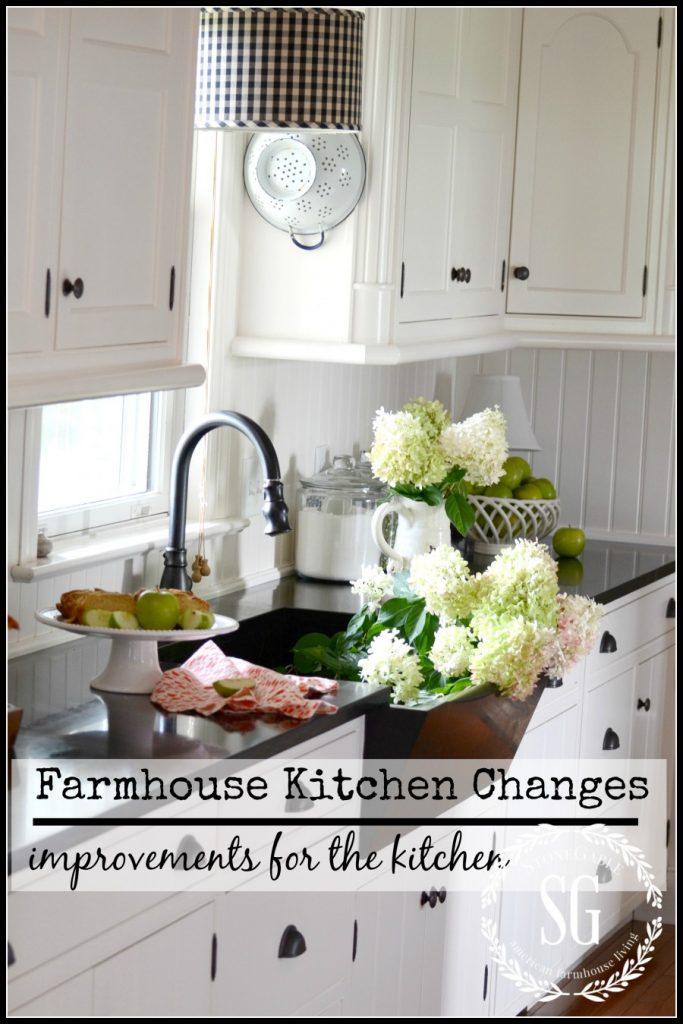 Farmhouse kitchen changes-stonegableblog.com