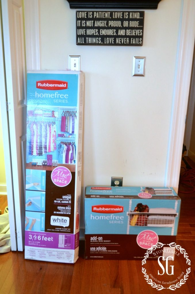 ORGANIZE AND TRANSFORM A CLOSET-stonegableblog.com