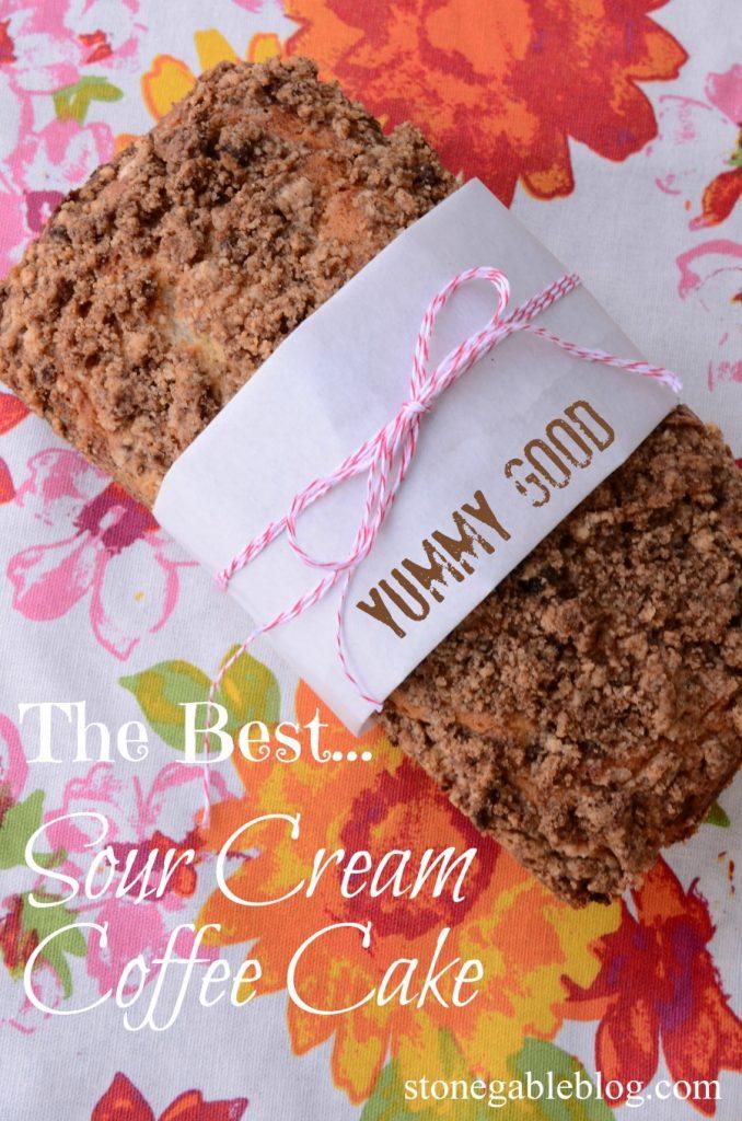 THE BEST SOUR CREAM COFFEE CAKE-TITL PAGE-stonegableblog