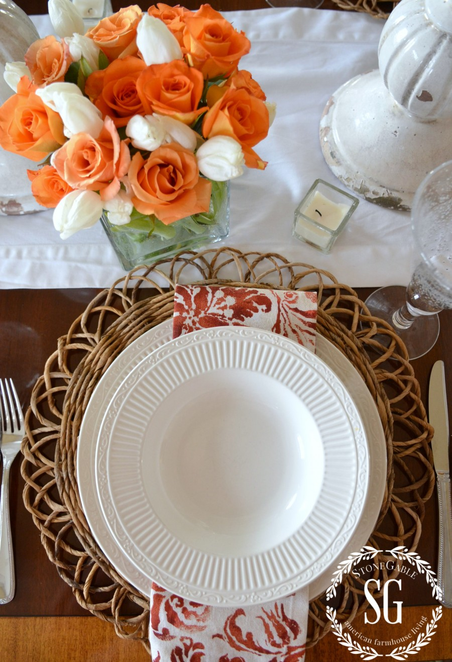 10 TIPS FOR EASY ENTERTAINING-great tips for almost effortless entertaining-stonegableblog.com