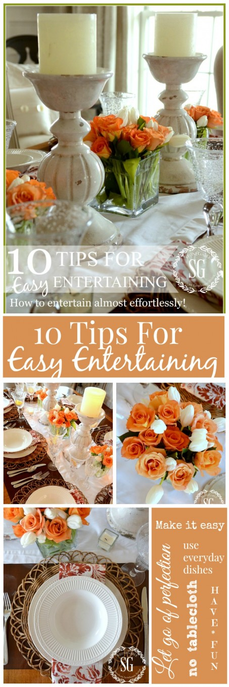 10 tips for easy entertaining you can do this for Easy entertaining tips
