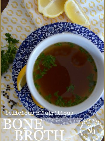 BONE BROTH-filled with vitamins and minerals-stonegableblog.com