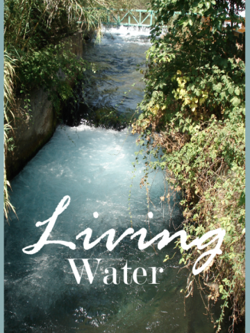 LIVING WATER- God's word through everyday life!