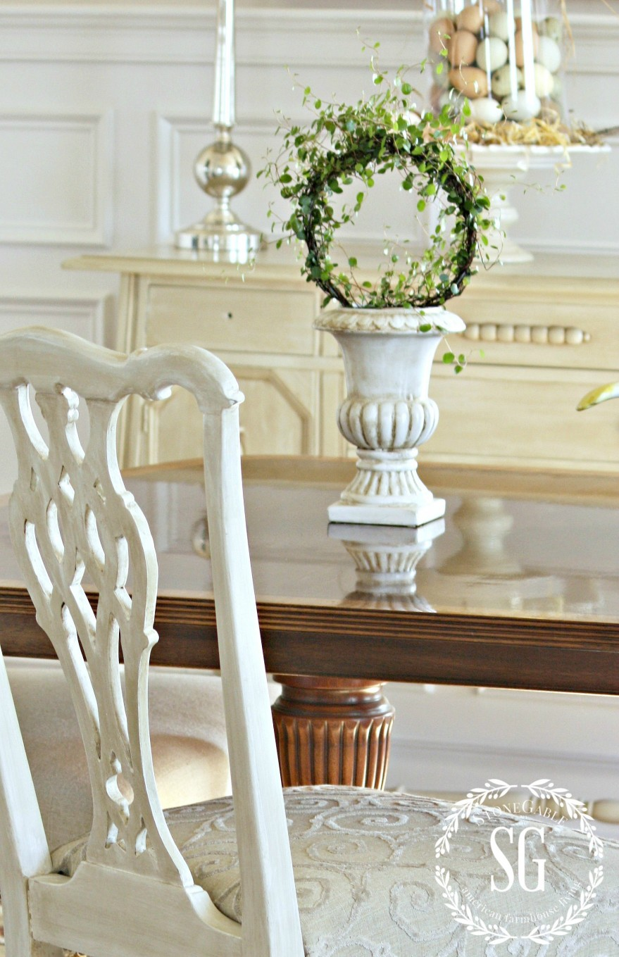 5 REASONS TO DECORATE WITH PLANTS-budget friendly ideas-wire plant-urn-stonegableblog.com