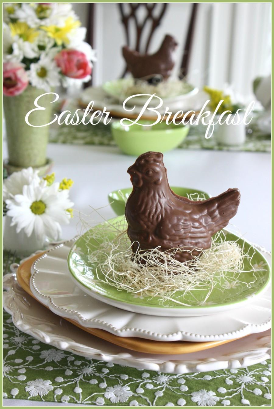EASTER BREAKFAST-easy and sweet-stonegableblog.com