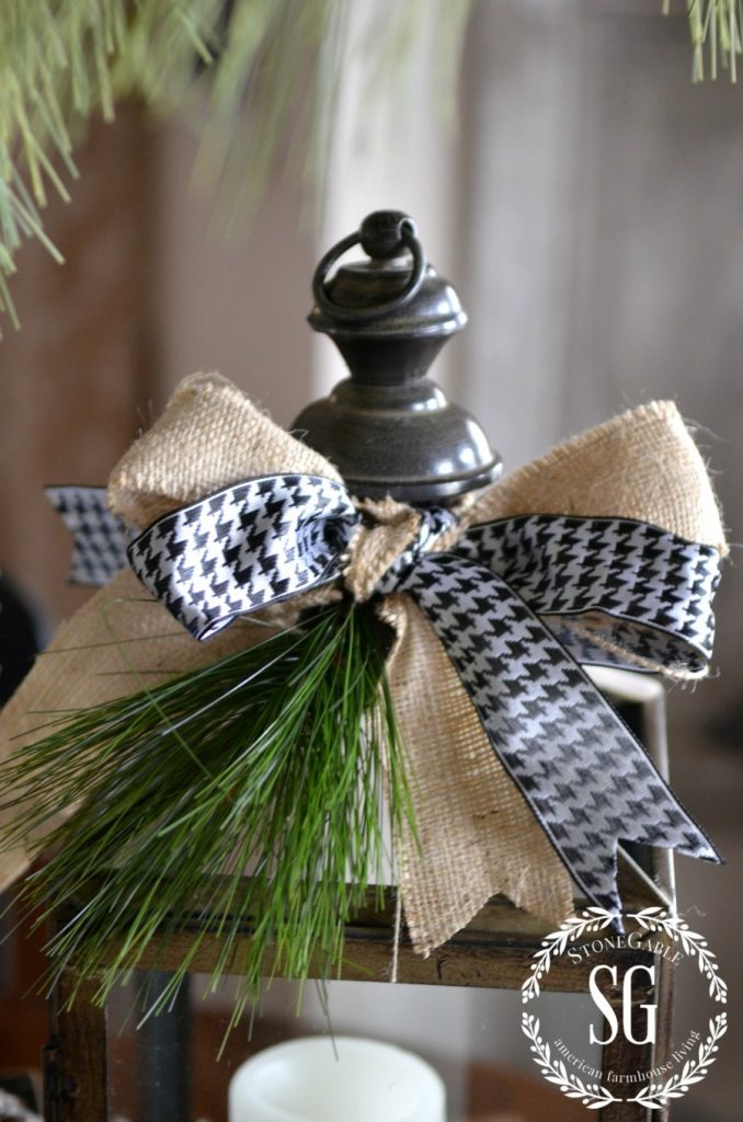 Farmhouse Christmas Vignette Creating Christmas